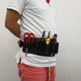 高品質600d多機能のMultipocketの防水ウエストの道具袋