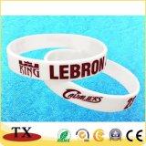 Wristband do bracelete e da borracha do silicone da alta qualidade