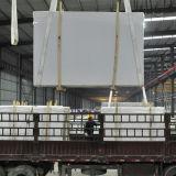 Ls-S002 чистого белого искусственного камня полированной плитки&слоев REST&место на кухонном столе