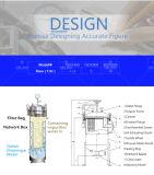 Rostfreie Umweltschutz-filternmaschinerie für flüssigen Filter