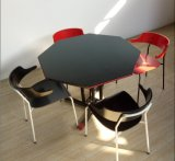 새로운 디자인 대중음식점 사용 싼 목제 테이블 및 의자