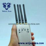 Mini brouilleur mobile portatif de signal (GSM/CDMA/DCS/PHS/3G/TD-SCDMA)