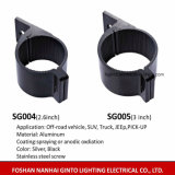 3inch LED 표시등 막대 (76mm)를 위한 알루미늄 장착 브래킷