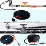 Rohr-Heizkabel des Wasser-220V mit Leistungsmesser-Licht