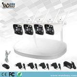私用モードNVRの4chs WiFi CCTVキット