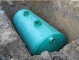 地下の廃水処置のためのFRP /GRPの腐敗性タンク