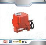 A válvula borboleta com atuador pneumática ou eléctrica