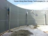 4*2000m3 Cstr planta de biogás