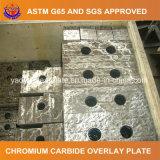 Plaque élevée d'usure de chrome pour l'équipement minier