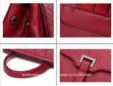 OEM de couro real à moda personalizado da trouxa da forma da venda do saco da trouxa 2018 a venda por atacado quente de couro a mais atrasada