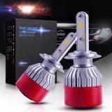 Jogo novo do farol do diodo emissor de luz H7 da conversão 24V Canbus do bulbo do diodo emissor de luz da tensão do projeto 12 melhor