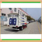 Clw Isuzu 3cbm reiner Saugen-Typ Vakuumstraßen-Kehrmaschine-LKWas
