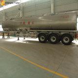 Depósito de combustible de aluminio 45000 litros de combustible de remolque remolque Petrolero