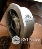 非鋳造物のステンレス鋼のばねのウエファーの小切手弁を戻しなさい