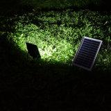 iluminación impermeable solar del punto del jardín de la seguridad de la lámpara de inundación del sensor de movimiento 20W