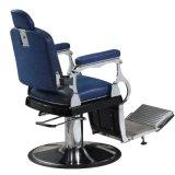 Eindeutiger Polsterung-Entwurfs-Salon-Herrenfriseur-Stuhl-Kontrast färbt Stuhl