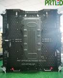 P tela Rental interna do diodo emissor de luz de uma cor cheia de 2.9 milímetros com o gabinete de fundição de 500 * 500 milímetros