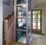 ¡Caliente! ¡! ¡! Pequeña elevación casera del elevador de Tavol con la cabina de cristal