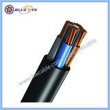 4 Noyau 10mm2 Câble PVC de câble en cuivre 4x6mm2 Cu/PVC/PVC IEC60502-1 600/1000V