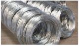 A tensão elevada 2.5mm mergulhados quentes galvanizou fio obrigatório de fio de aço no fio do ferro