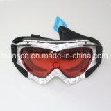 Anteojos ULTRAVIOLETA del Snowboard del corte de las lentes dobles