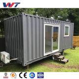 Дом контейнера низкой цены высокого качества портативная складывая