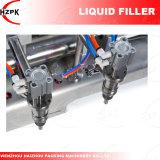 El doble de los Jefes/máquina de llenado de agua de llenado de líquido/Líquido Máquina de Llenado de China