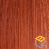 中国からの家具のためのチークの木製の穀物の装飾的なペーパー
