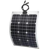 顧客用半適用範囲が広い太陽電池パネル18V 50Wのモノラルタイプ