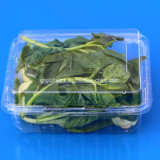 Коробка прозрачного плодоовощ любимчика Clamshell волдыря пластичного упаковывая