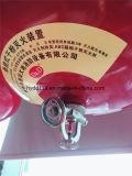 La température de vente directe d'usine détectant l'extincteur sec Ultrafine s'arrêtant de poudre