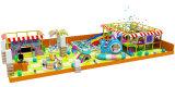 Speelplaats van het Spel van de Sprong van de Speelplaatsen van jonge geitjes de Commerciële Binnen Zachte