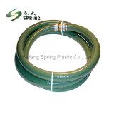 Plastique PVC renforcé de la poudre d'aspiration en spirale de l'eau Durit du tuyau de jardin avec une bonne qualité