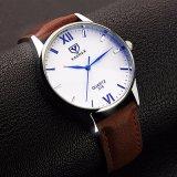 Z318 de Uitstekende Lichtgevende Waterdichte Polshorloges van de Mensen van het Horloge