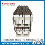 bateria profunda do gel do ciclo da bateria de armazenamento da energia solar de 2V 400ah