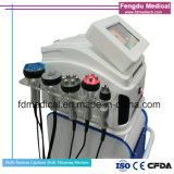 Corps multifonctionnel du laser rf Vacuumm de Lipo de cavitation portative amincissant le matériel