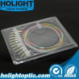 LC mm 12 de Optische Vlecht van de Vezel van Kleuren voor FTTH