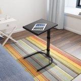 침실에 있는 소형 침대 곁 직원 테이블을 접히는 Portable