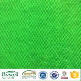 Tissu de coussin tricoté par chaîne de fourrure artificielle de tissu de peluche