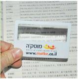 Magnifier plástico de Fresnel do punho do cartão com folha do PVC (HW-802)
