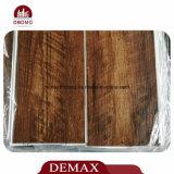 Mattonelle di pavimento di legno impermeabili all'ingrosso della plancia del vinile di sguardo