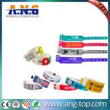 방수 RFID 지능적인 소맷동 PVC 팔찌