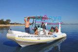 Liya 6.2m Mariene Opblaasbare Glasvezel die Tedere Boot vissen (HYP620)