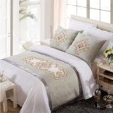 Hotel-Dekoration-Polyester-Bett-Seitentrieb