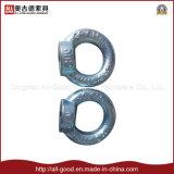 En zinc plaqué de montage DIN582 Bague en acier au carbone de l'écrou de l'oeil