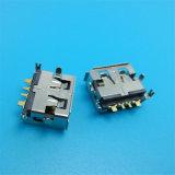 Оптовое прямоугольное тип разъем USB 4p