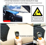Para a Toyota Hilux Fortuner 2011-2015 Voar5d Dashmat Tapete do painel da tampa do painel de bordo