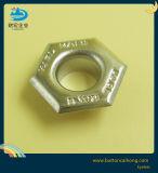 O logotipo personalizado em placas de latão níquel ilhós metálicos