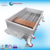 China de fábrica de aluminio de aletas de directo de la placa de intercambiador de calor aire-aire