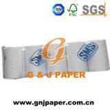 Papel termal blanco de la buena calidad para el recibo de la batería